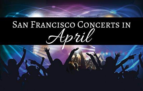 San Francisco Concerts in April