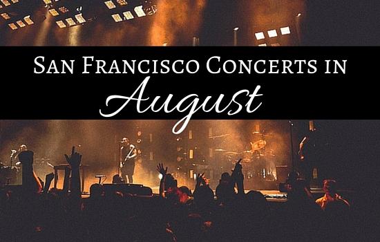 San Francisco August Concerts