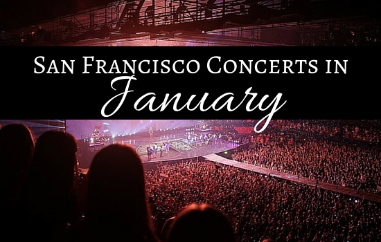 San Francisco Concerts in January