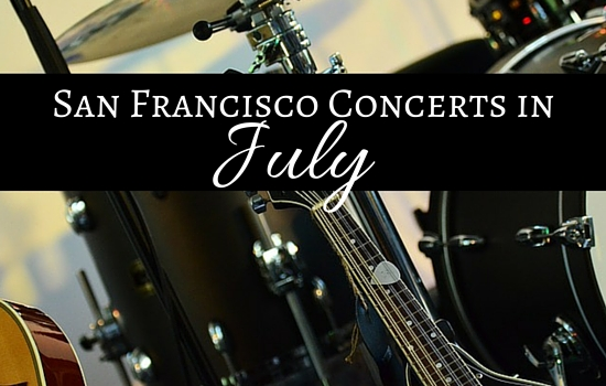 SF Concerts in July