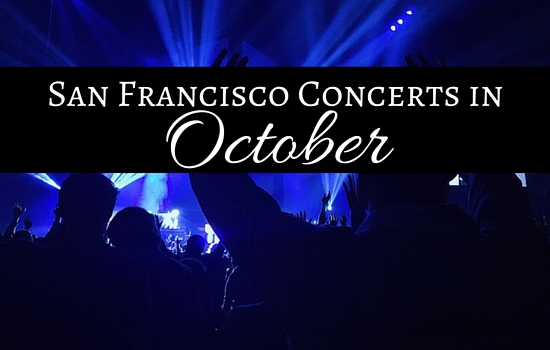 San Francisco Concerts in October