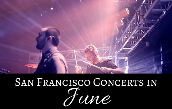 SF Concerts in June