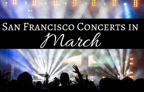 San Francisco March Concerts
