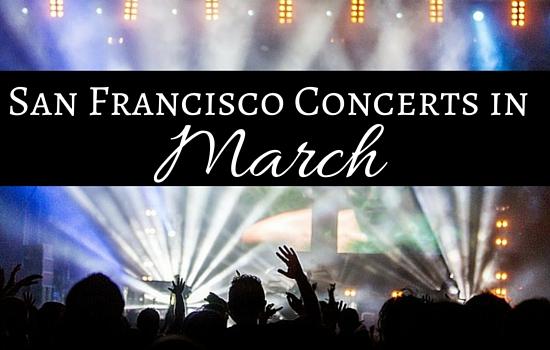 San Francisco March Concerts