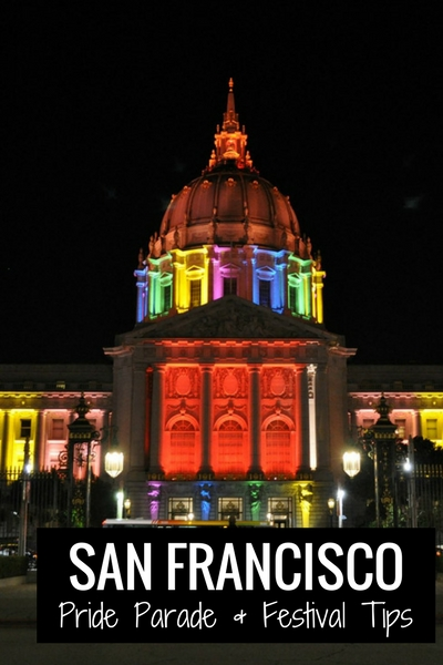 City Hall in Colors for Pride SF