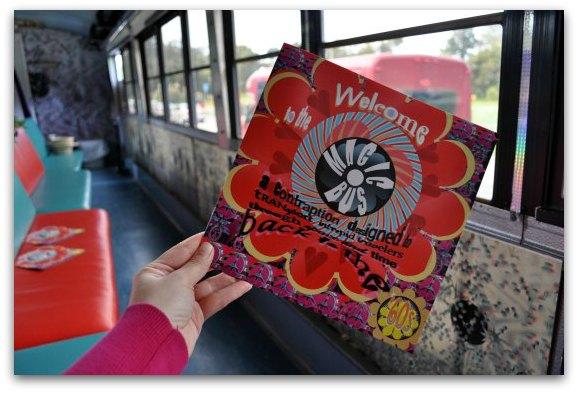 magic bus tour brochure