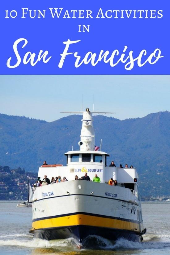 San Francisco Water Activities: 10 Fun Ideas