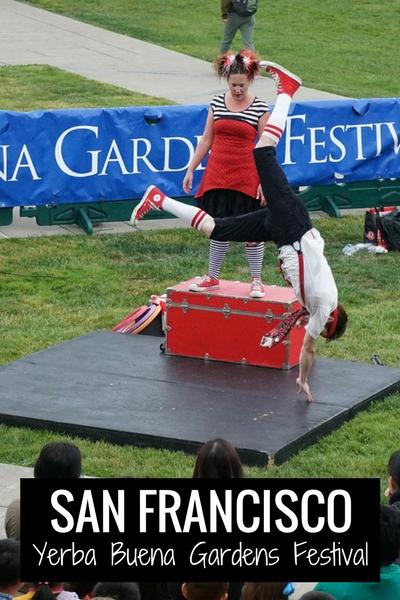 Yerba Buena Festival in SF