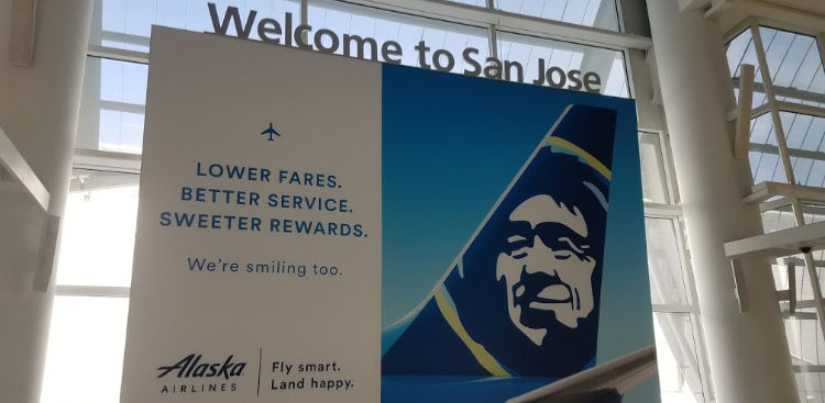 San Jose Airport Sign