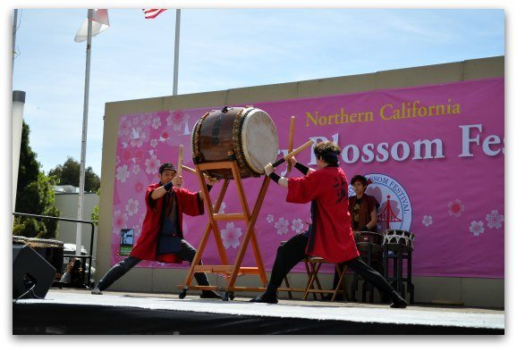 saturday cherry blossom festival