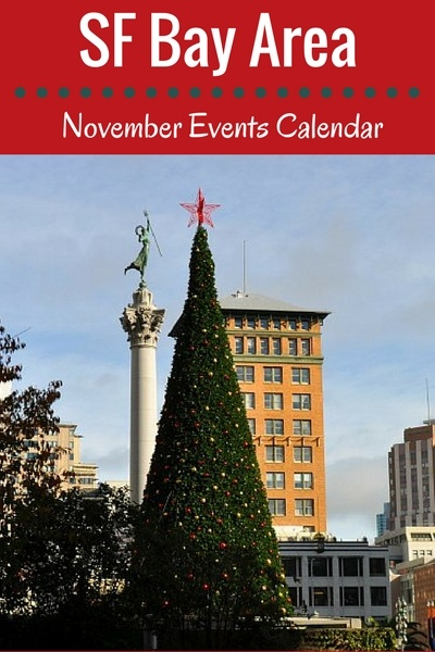 SF November Events: Tree Lighting, Concerts, Thanksgiving, & More