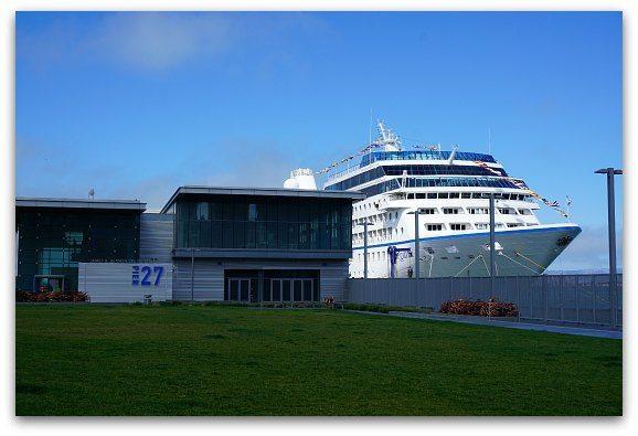 Ship at Pier 27