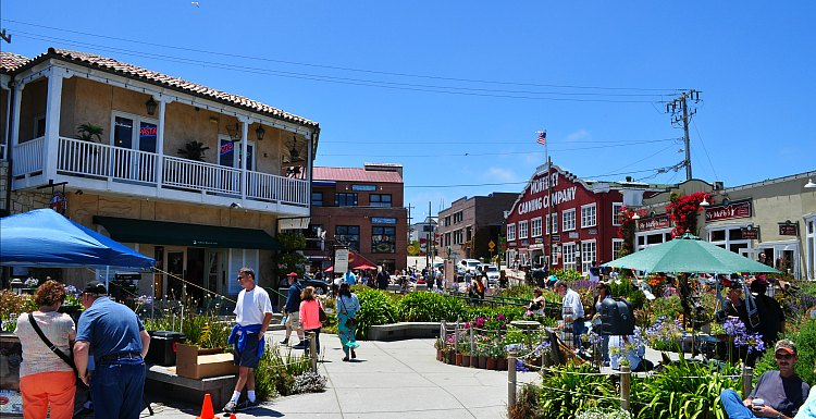 Shopping on Cannery Row