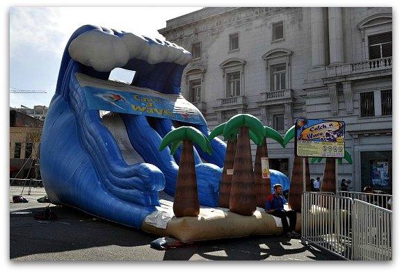 slide st. patricks festival