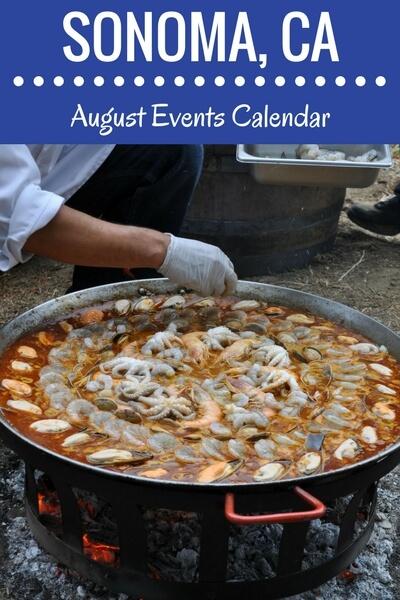 August Sonoma Event Calendar: Wine Tasting, Festivals and More