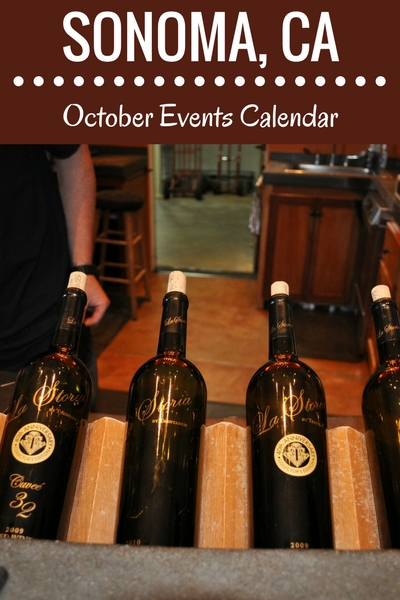 Sonoma in October: Events, Festivals, & Wine Tasting Parties