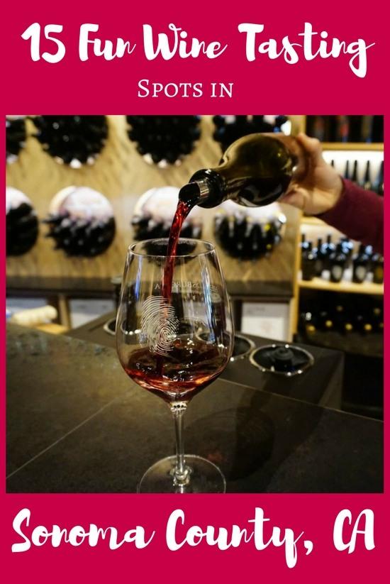 Sonoma Wineries: 15 Fun Finds