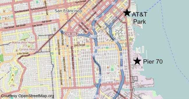Pier 70 San Francisco Map Summersalt Music Festival 2014 | Pier 70 Events Pier 70 San Francisco Map