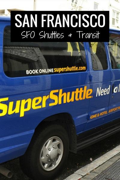 SFO Shuttles & Transit