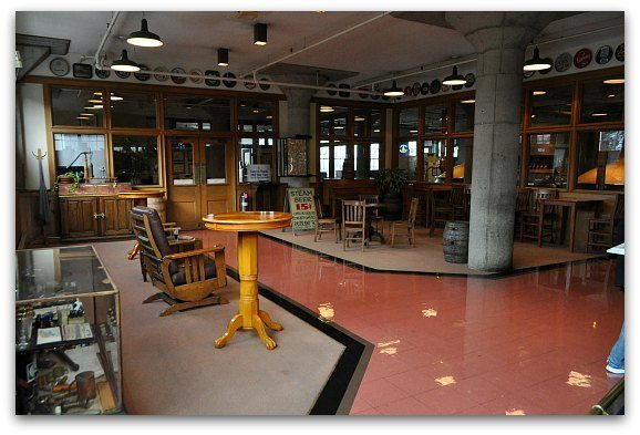tasting room at anchor steam