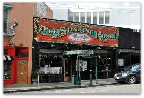 Stinking Rose Restaurant Best North Beach San Francisco