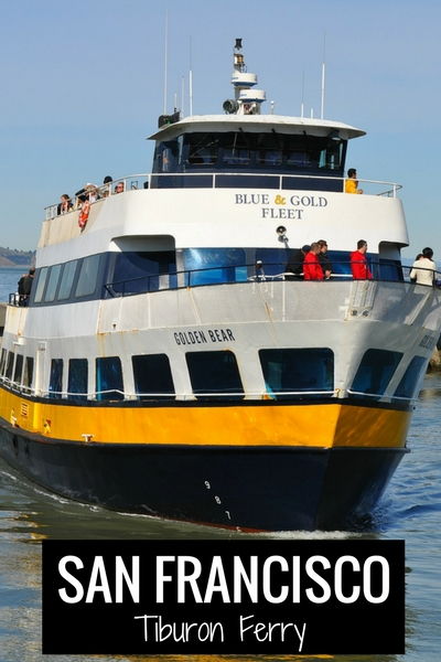 Tiburon Ferry San Francisco