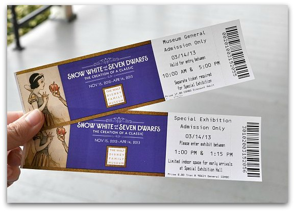 tickets disney museum