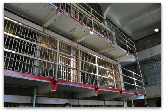 top rows alcatraz cells