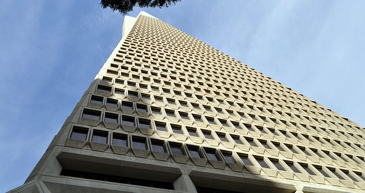 Transamerica Building Looking Up