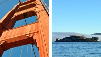Two Days in SF with Alcatraz and Golden Gate Bridge