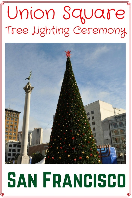 Christmas In San Francisco 2019 Union Square Christmas Tree Lighting: 2019 Event Details