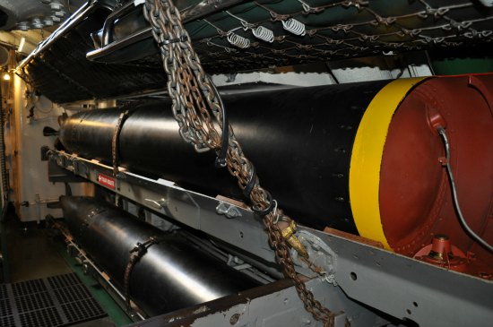 uss pampanito torpedos