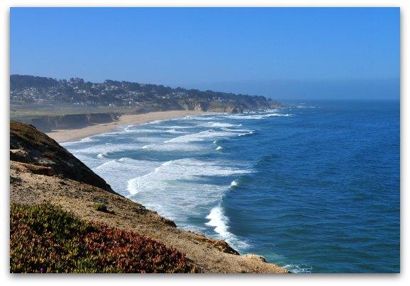 views pacific ocean