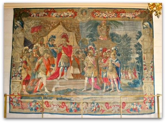 war memorial tapestry