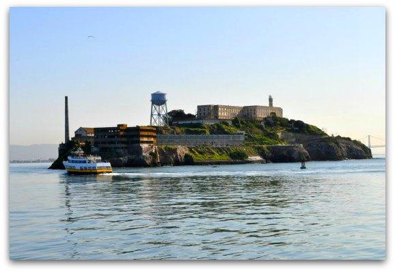 western side of alcatraz
