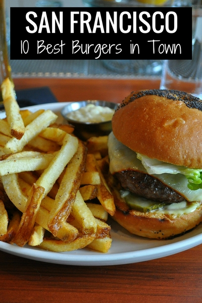 Best Burgers in SF