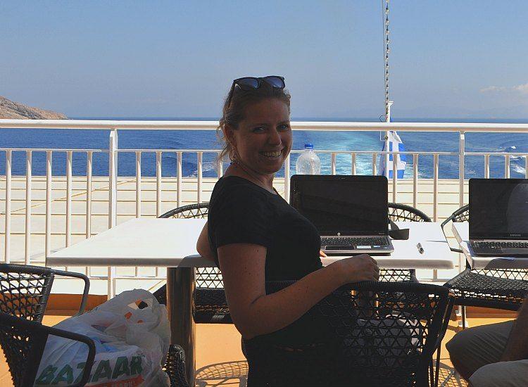 Working in Greece