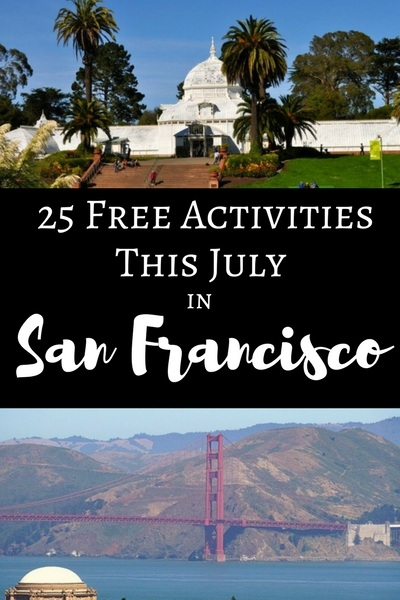 25 Free Things to Do Every July in San Francisco