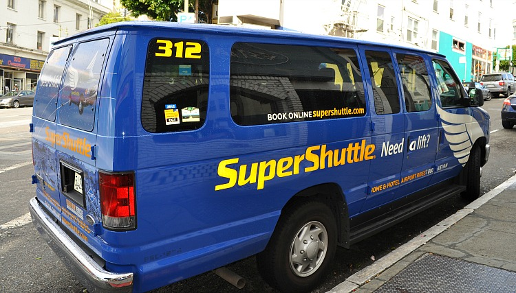 airport shuttle in san francisco