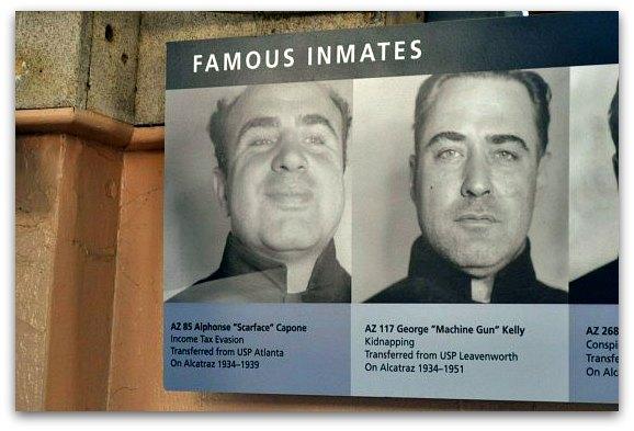 al capone alcatraz sign