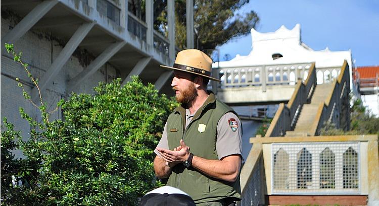 Alcatraz Parks Ranger
