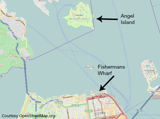Angel Island San Francisco Visiting Ferry History