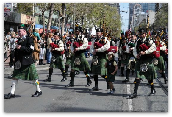 band saint pattys day parade