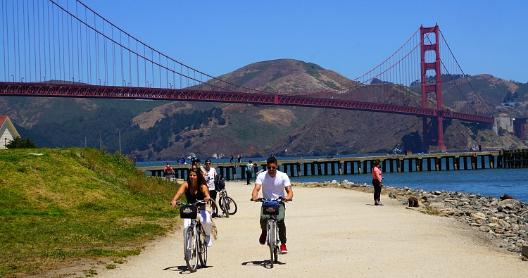Biking Tour of San Francisco