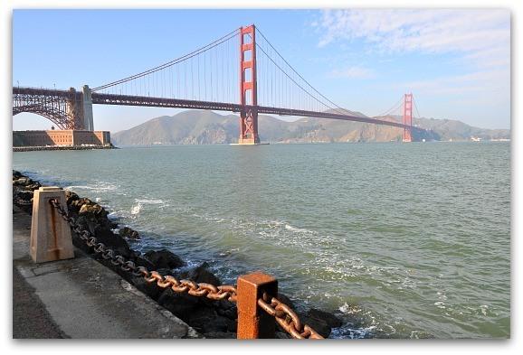 bridge from marina drive