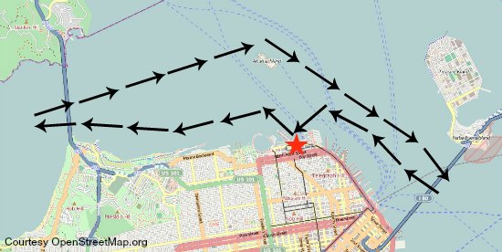 bridge to bridge route map