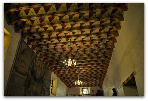 ceiling mission de asis