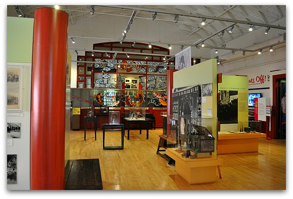 Chinese Historical Society's permanent gallery
