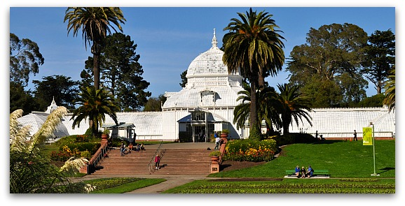 Conservatory of Flowers in Golden Gate Park
