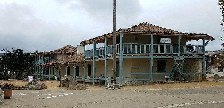 Custom House on a Cloudy Day